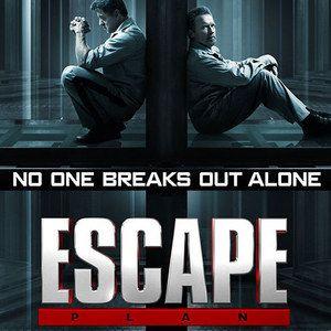 Escape Plan Poster with Sylvester Stallone and Arnold Schwarzenegger