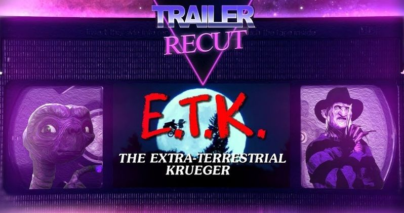Weird Elm Street Meets E.T. Mashup Turns Freddy Into an Extra-Terrestrial