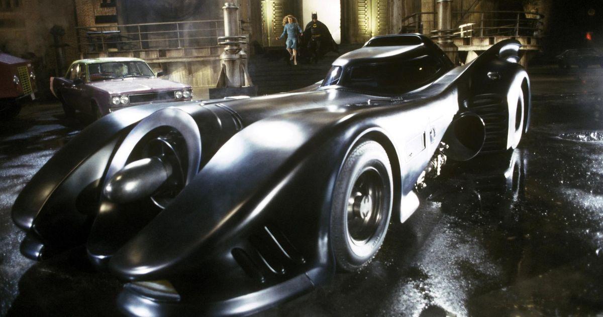 The Flash Movie Set Images Reveal Michael Keaton's Batmobile and Batcave