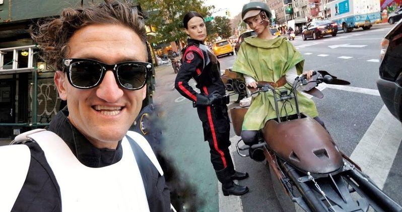 Real-Life Star Wars Speeder Bike Costumes Win Halloween