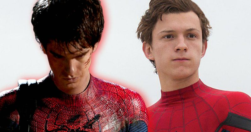 Watch Spider-Man Stars Tom Holland & Andrew Garfield Meet for the First Time