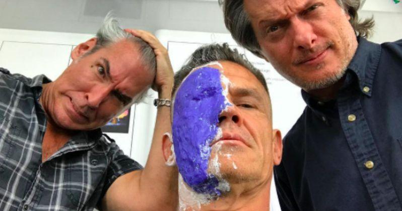 Josh Brolin's Cable Transformation Begins in Deadpool 2