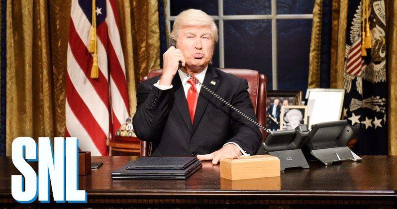 Alec Baldwin Returns as Trump in SNL Season Debut to Mock Impeachment
