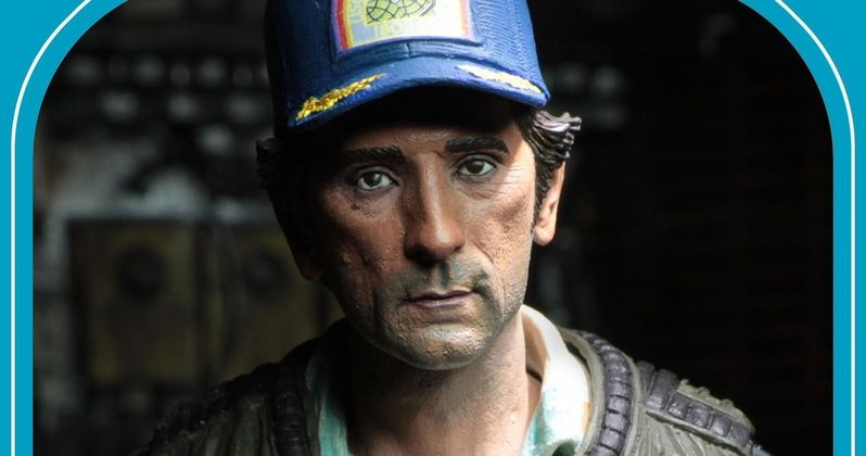NECA Unveils Harry Dean Stanton as Samuel Brett Figure for #AlienDay