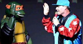 Watch Vanilla Ice Crash the Ninja Turtles 2 Premiere