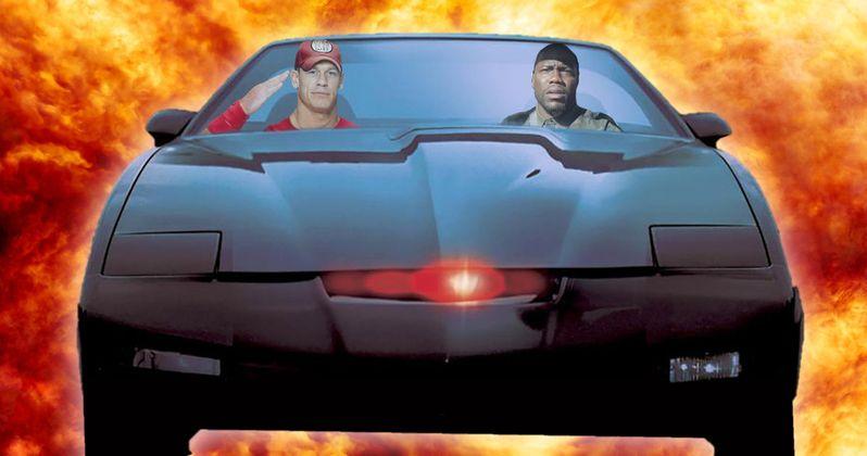 Knight Rider Movie Happening with John Cena & Kevin Hart?