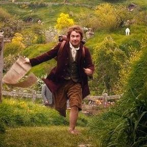 The Hobbit: An Unexpected Journey 'Exciting News' Photo with Bilbo Baggins