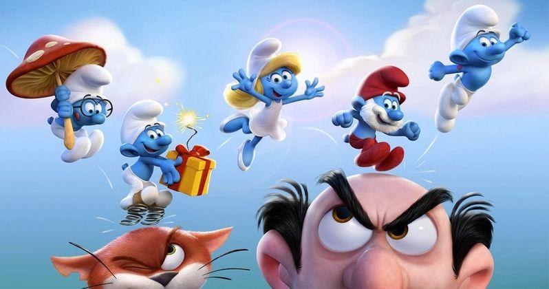 Smurfs Movie Get Smurfy Gets Demi Lovato and Rainn Wilson