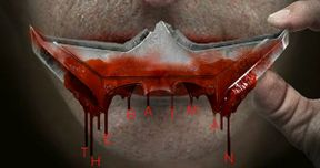 Jared Leto's Joker Gets Bloody in The Batman Fan-Made Poster