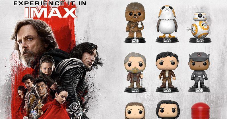Win Star Wars: The Last Jedi IMAX Tickets, Funko Figures & More