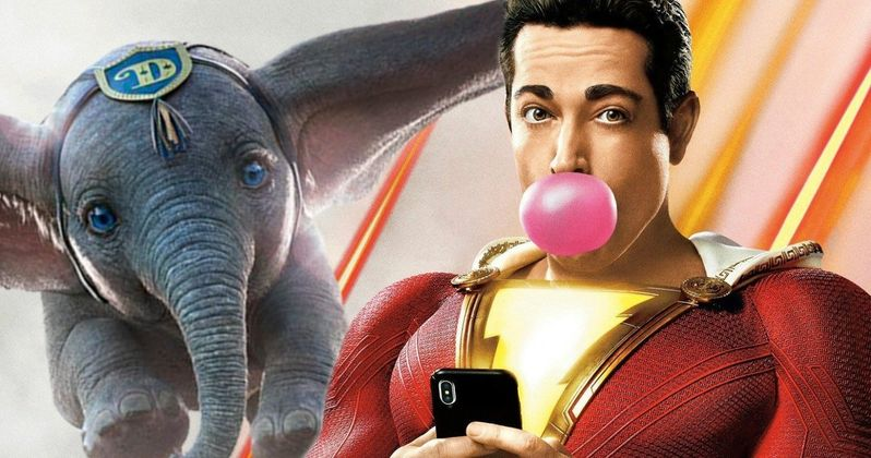 Shazam! Director Shares Hilarious Dumbo Mashup Video