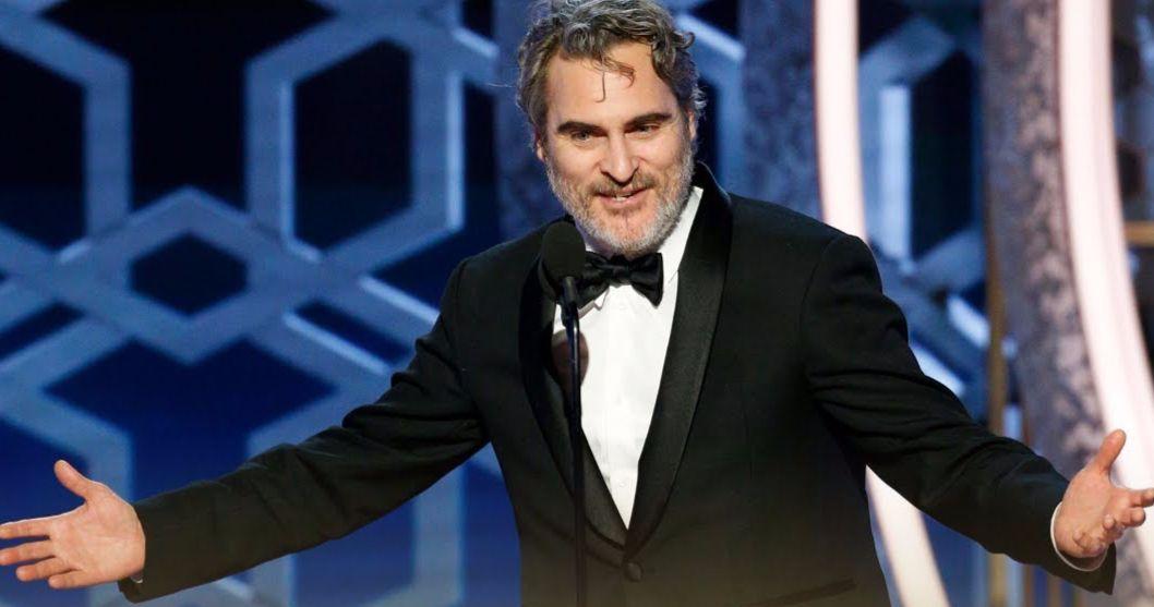 Joaquin Phoenix Channels Joker in Uncensored Golden Globes Acceptance Speech