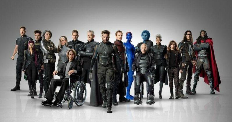 X-Men: Days of Future Past Cast Banner Unites Xavier's Mutant Army