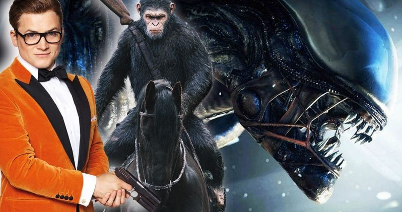 Disney Promises New Alien, Planet of the Apes & Kingsman Movies at CinemaCon