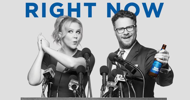 Schumer & Rogen Unite America in Bud Light Super Bowl Commerical