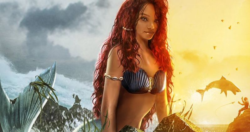 BossLogic Shows Us Halle Bailey as The Little Mermaid, Will It Quiet Backlash?