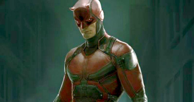 Daredevil: Marvel Unveils Red Costume Art & New Details