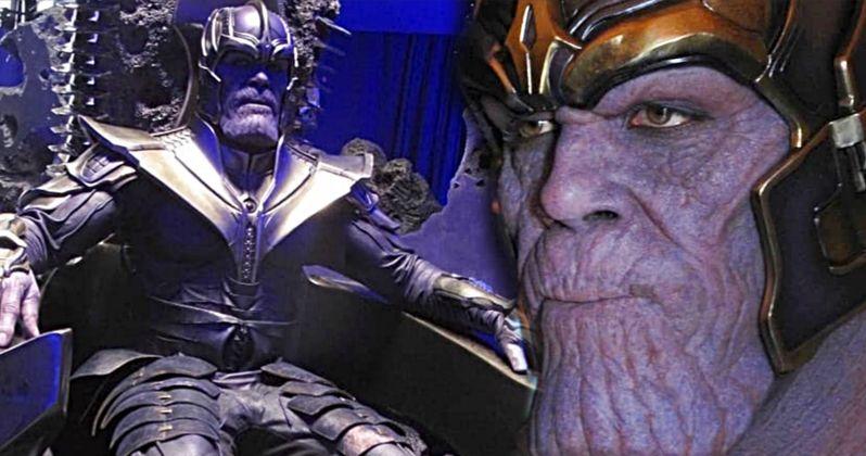 Thanos Before Brolin: Avengers Set Photos Show Original Mad
