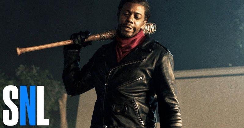 David Chappelle Visits SNL to Spoof Walking Dead