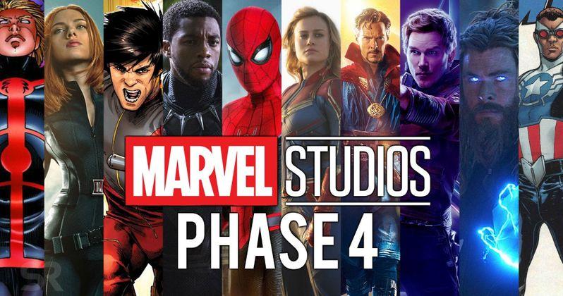Marvel Phase 4 Confirmed: Fantastic Four, Black Panther 2