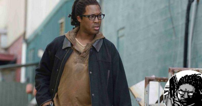 Walking Dead Season 6 First Look at Corey Hawkins as Heath