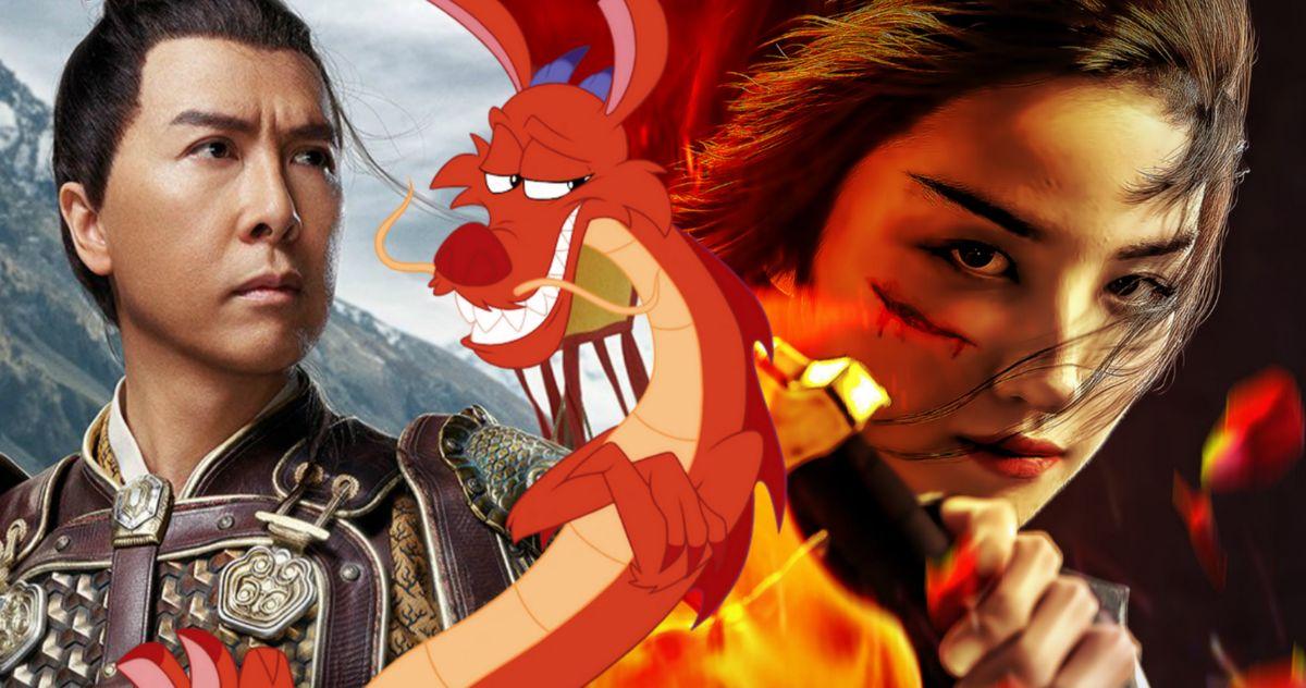 The Real Reason Mushu Was Dropped From Disney S Mulan Remake