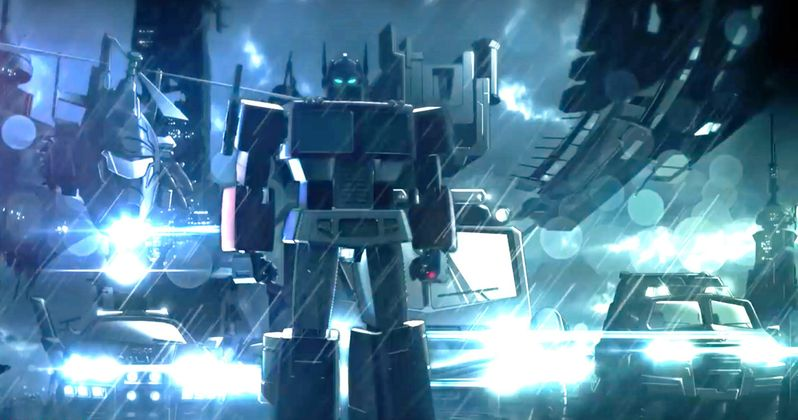 Meet the Voice Behind Optimus Prime in Transformers: Combiner Wars | EXCLUSIVE