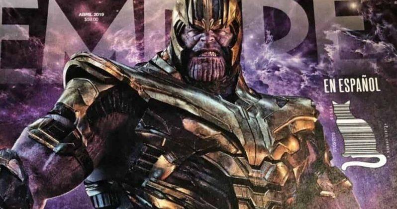 Thanos' Armor & Farm Fully Revealed in Endgame Empire Magazine Art