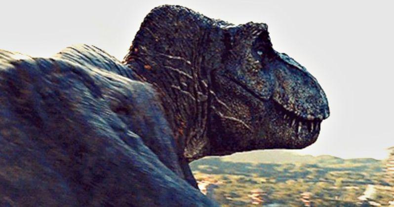 Jurassic Park T Rex Roar Leaked Jurassic World ...