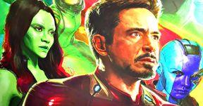 Infinity War Poster Teams Avengers, Guardians & Spider-Man