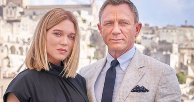 No Time to Die Photos Bring James Bond Cast to Italy