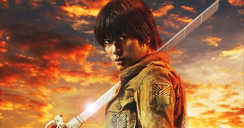 Attack on Titan Live Action Movie Gets 6 Character Posters