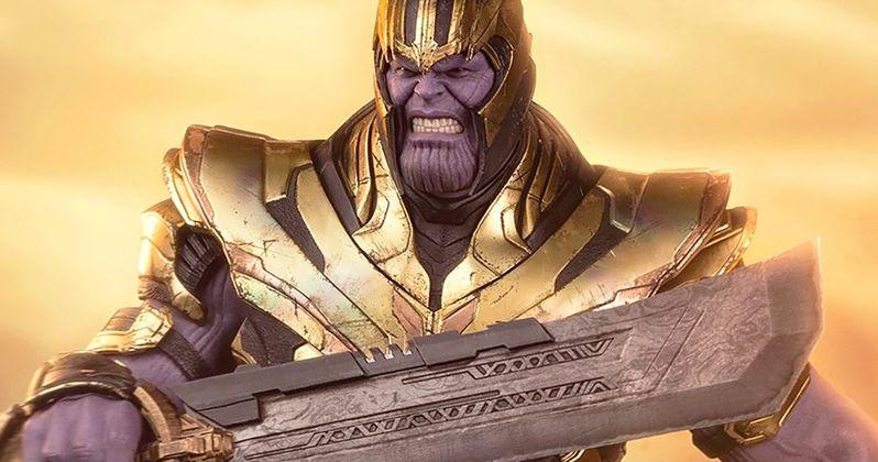 Thanos Hot Toys Action Figure Reveals His Secret Endgame Weapon