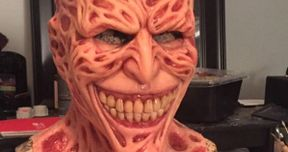 Freddy Krueger Becomes the Joker in Nightmarish Halloween Mask