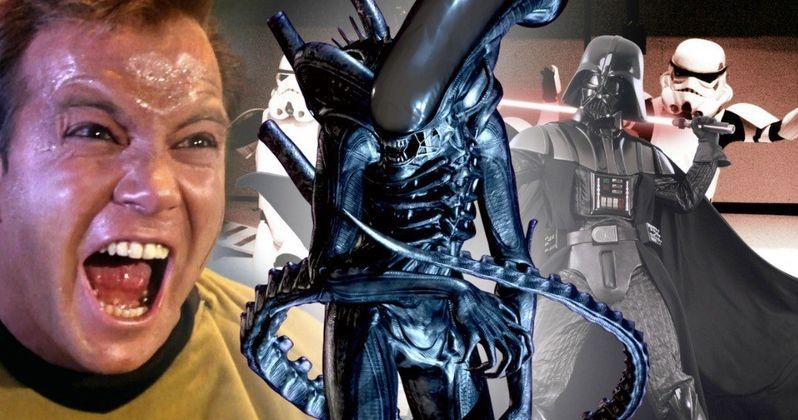 Ridley Scott Thinks Alien Should Be as Big as Star Wars & Star Trek