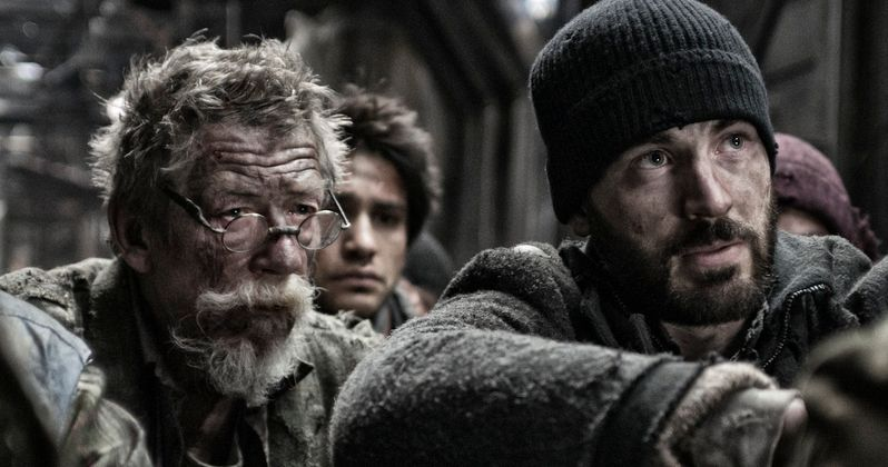 Chris Evans Takes a Long Cold Ride in New Snowpiercer Trailer