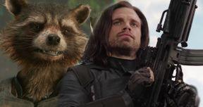 Rocket Raccoon Tries to Buy Bucky's Arm In Avengers: Infinity War
