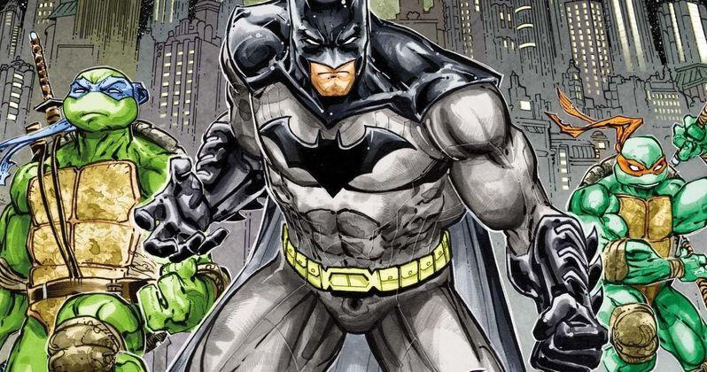 Batman & Ninja Turtles Team Up in Comic Crossover Preview