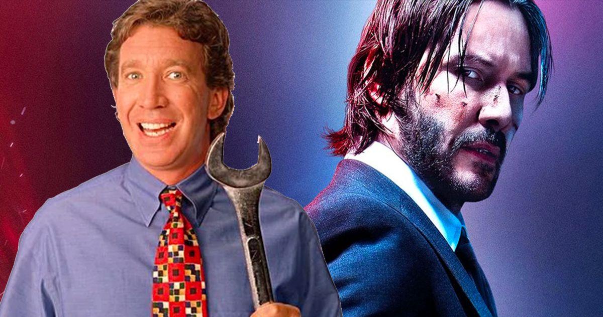 Tim Allen Told Keanu Reeves How He'd Kill John Wick, Then It Got Real