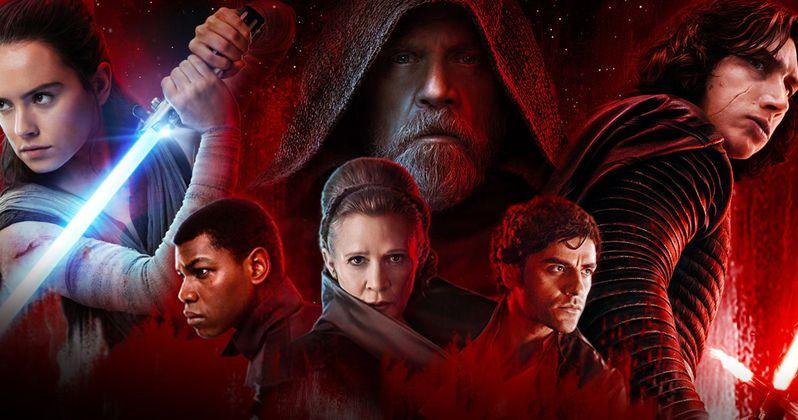 Luke Shows His Dark Side in Massive Last Jedi IMAX Standee