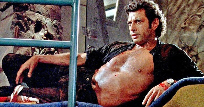 Shirtless Jeff Goldblum Statue Lands in London for Jurassic Park Anniversary