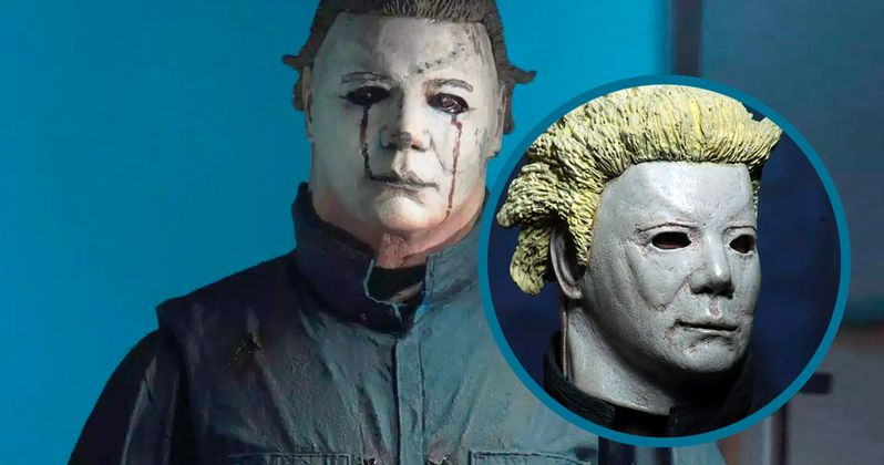 Halloween II Ultimate Michael Myers NECA Figure Comes with Ben Tramer Swappable Head