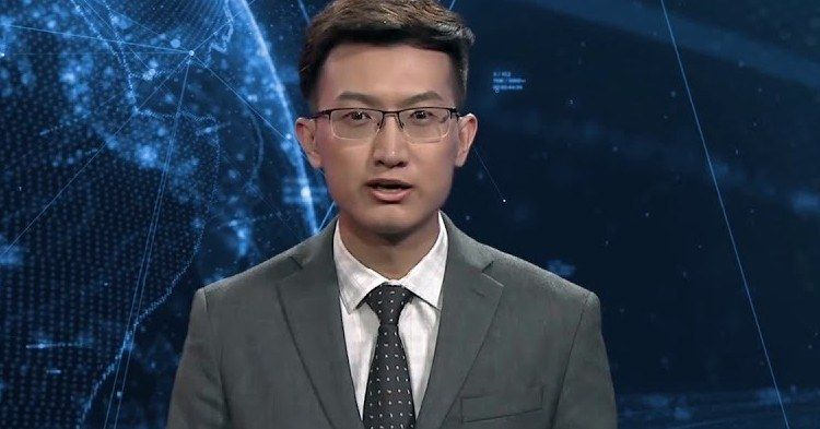 China Introduces Creepy AI News Anchor