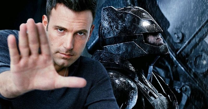 Ben Affleck Will Not Direct The Batman