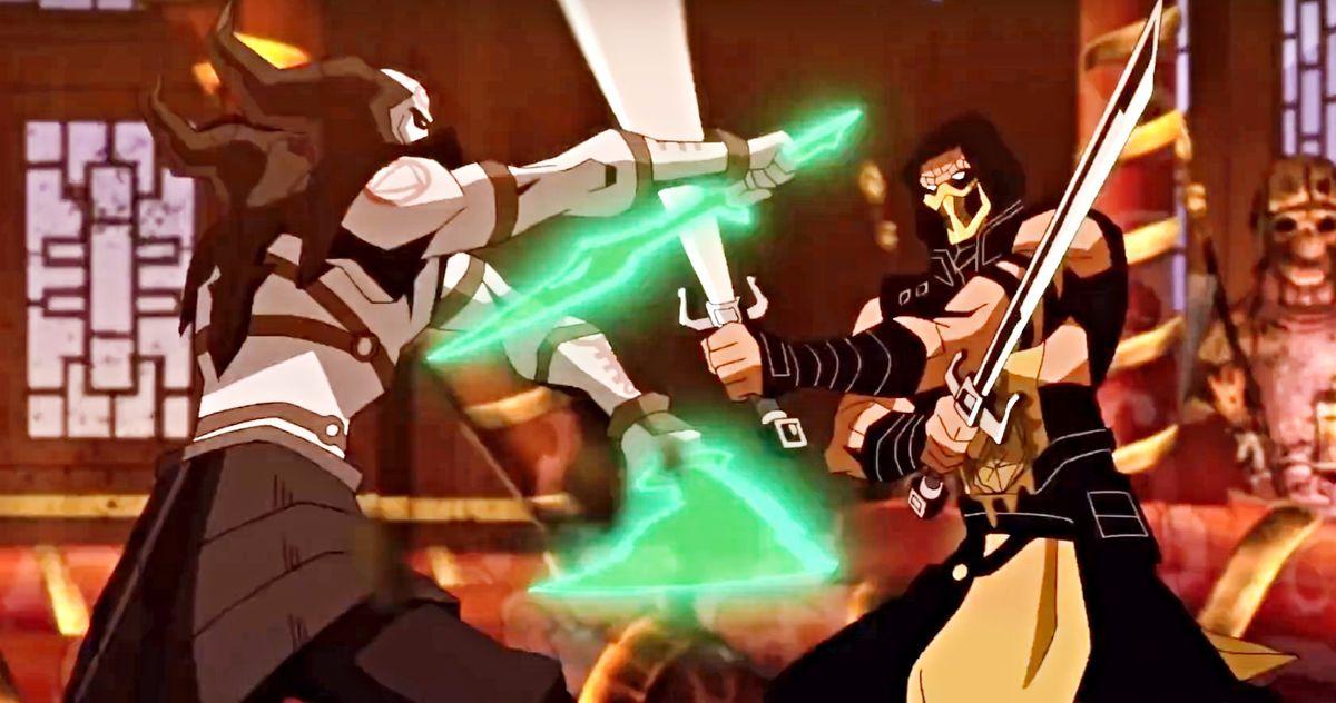 Scorpion Vs. Quan Chi - Mortal Kombat Legends: Scorpion's Revenge