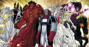 Bryan Singer Teases the Four Horsemen in X-Men: Apocalypse Script Image