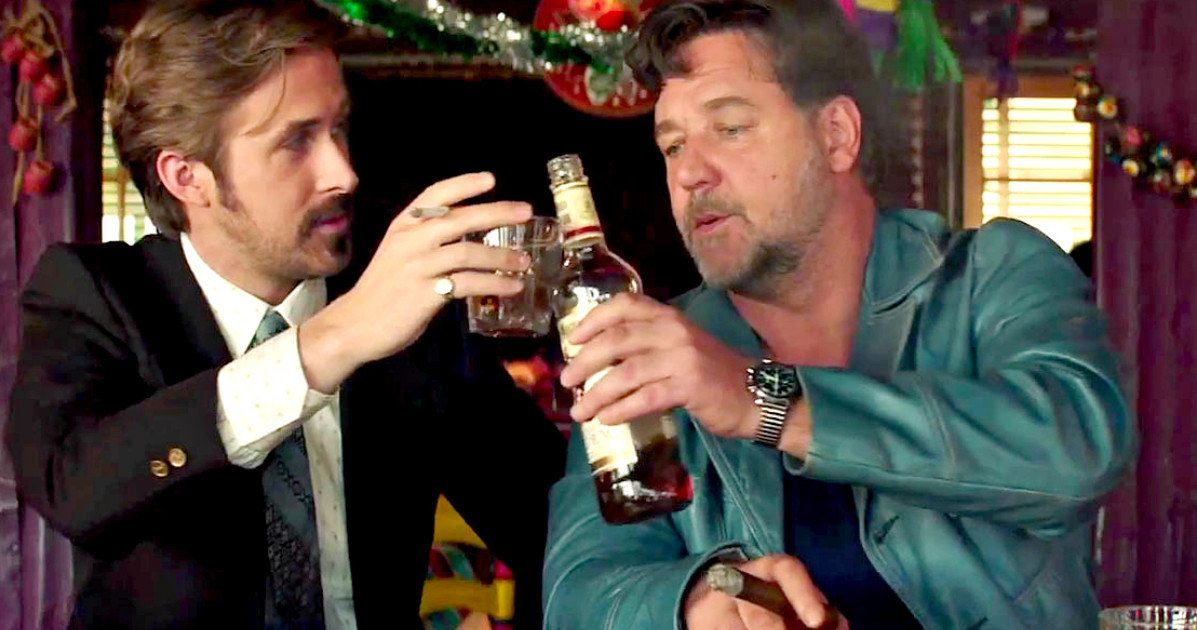 Nice Guys Tv Trailer Teams Gosling  Crowe In The 70S-4366