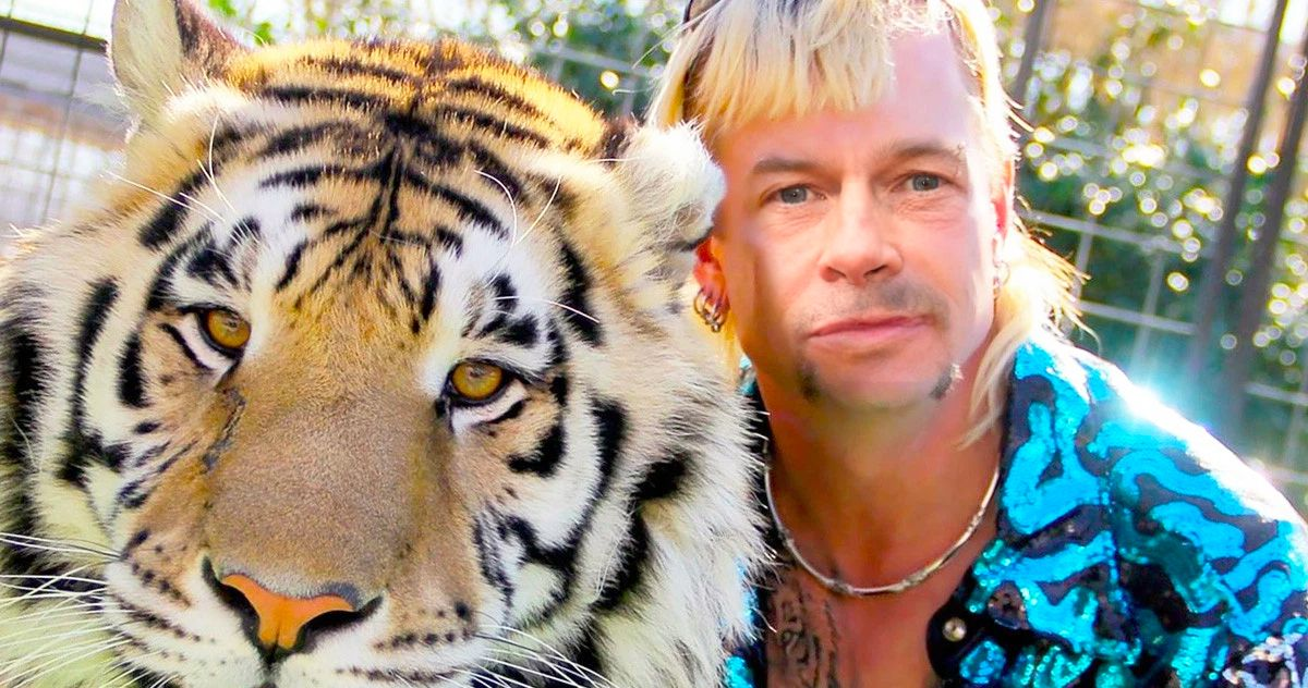 Tiger King Biopic: Joe Exotic Wants Brad Pitt or 'Joe Dirt' to Play Him