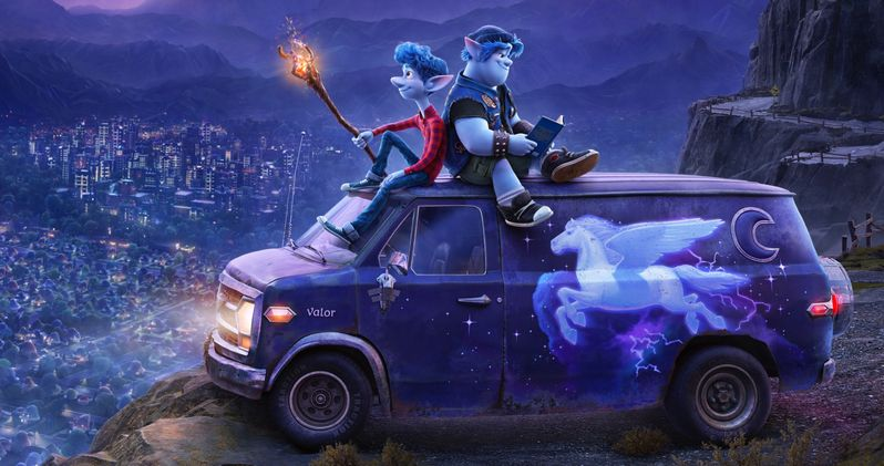 Pixar's Onward Trailer Teams Chris Pratt & Tom Holland as Elf Brothers on a Quest