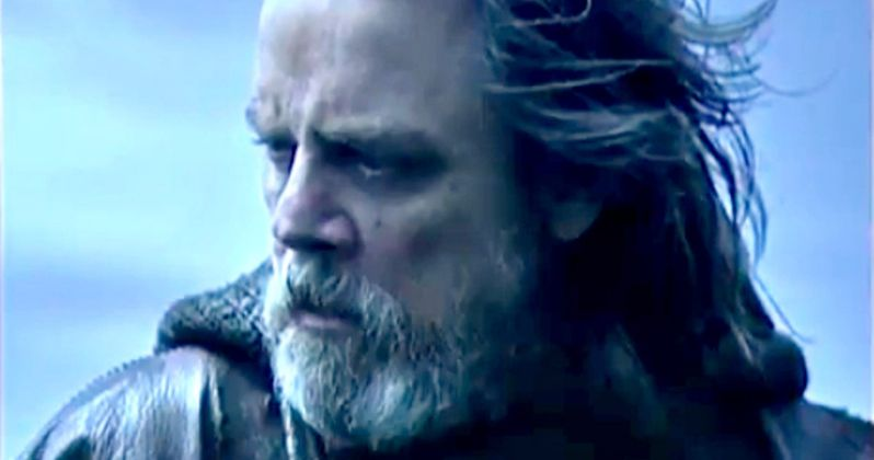 Mark Hamill Teases Luke's Possible Turn to the Dark Side in The Last Jedi